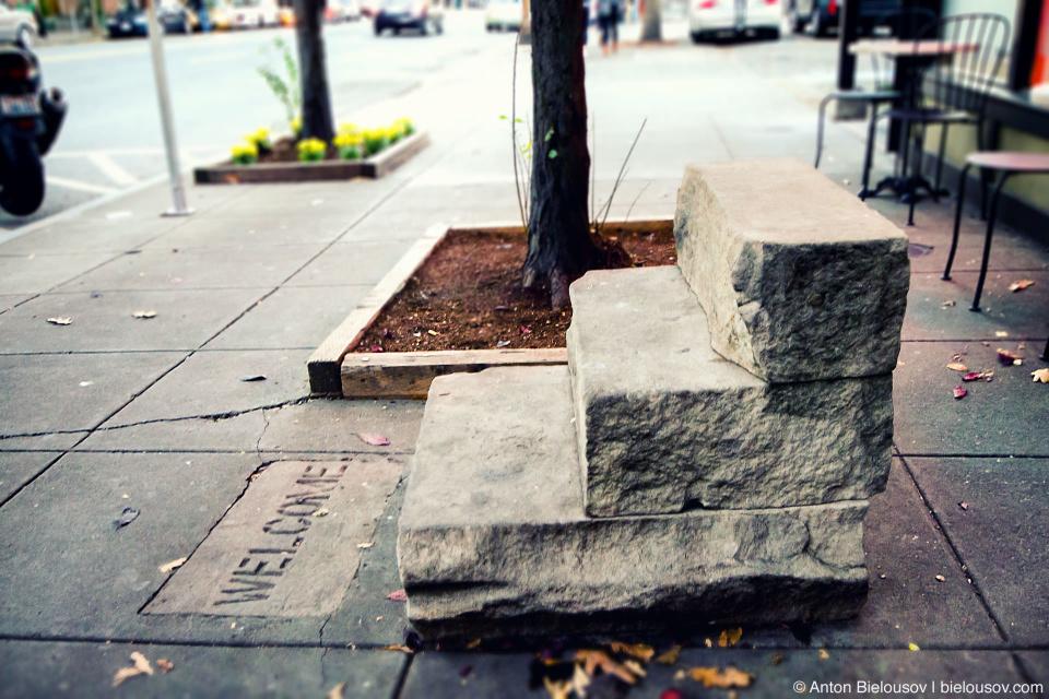 Лестницы в никуда на улицаъ Сиэтла