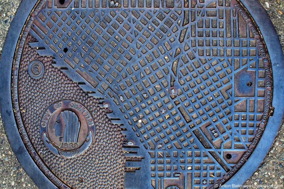 Крышка люка (Seattle, WA)