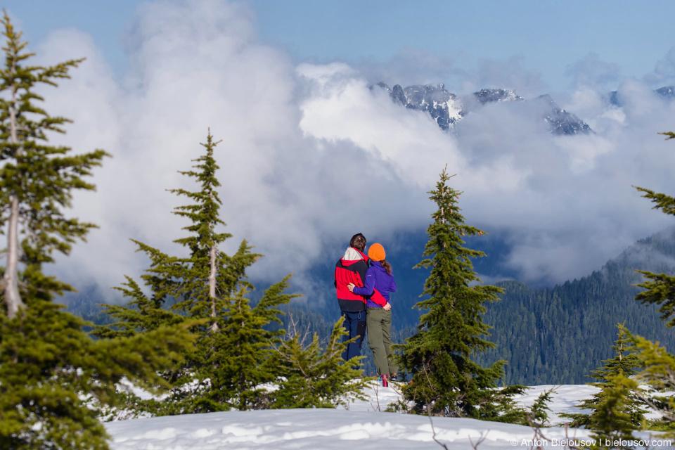 На вершине горы Сеймур (Seymour Mountain)