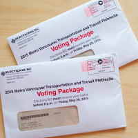 Metro Vancouver Transportation and Transit Plebiscite Voting Package