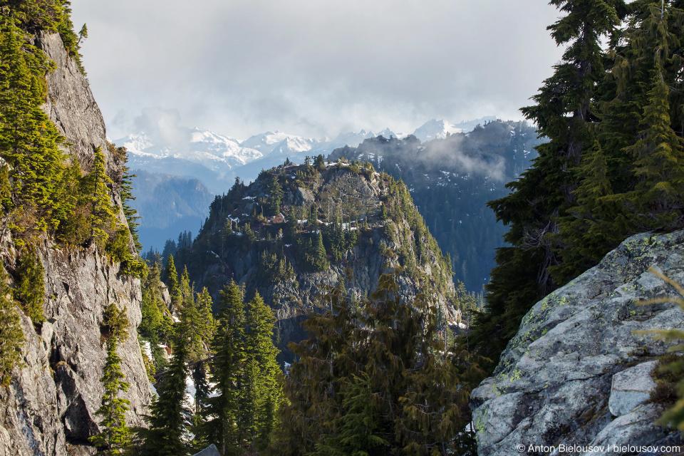 Вид с вершины горы Сеймур (Seymour Mountain)