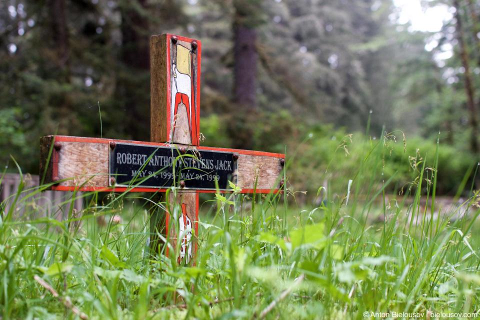 Кладбище индейцев Pacheedaht (Port Renfrew, BC)
