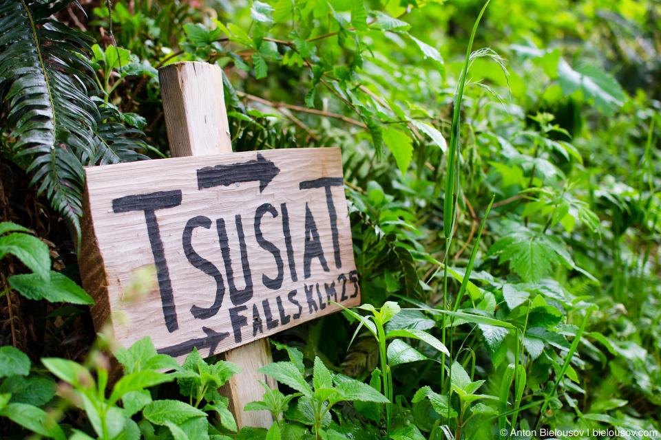 West Coast Trail: Tsusiat Falls, 25km