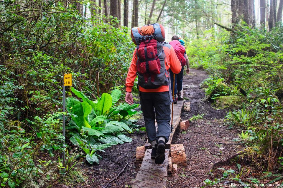 West Coast Trail 18km