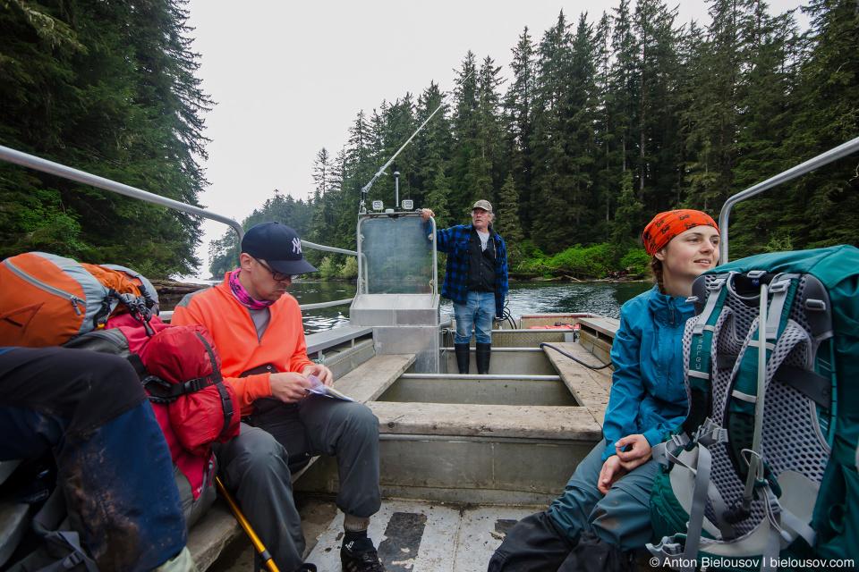 West Coast Trail: Nitinat Narrows Ferry