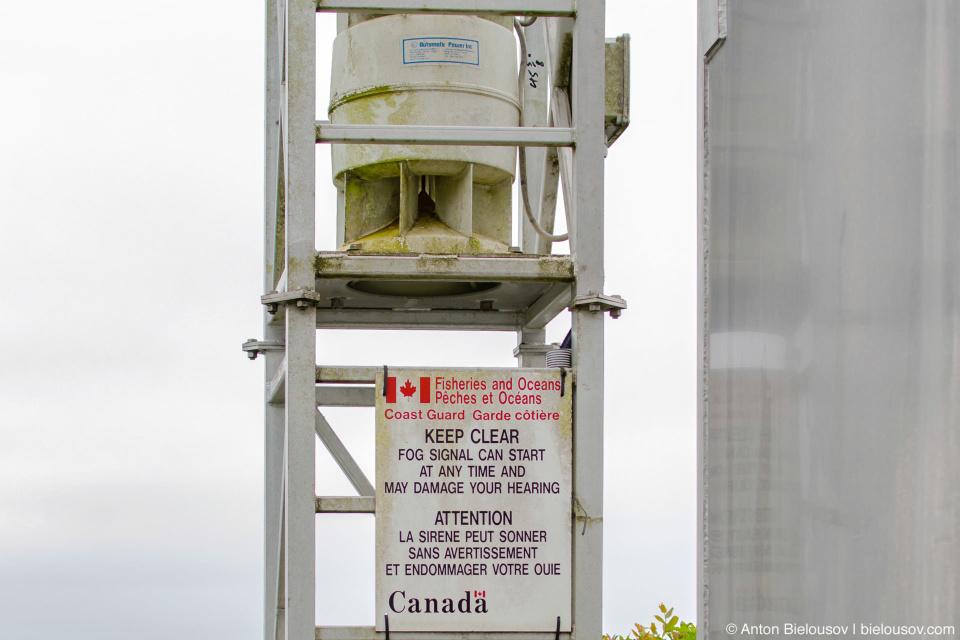 West Coast Trail Pacheta Point Lighthouse Fog Signal