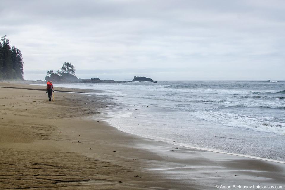 West Coast Trail sandy beach