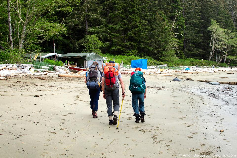 West Coast Trail: Chez Monique
