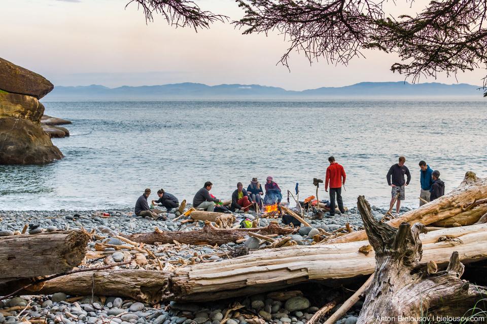 West Coast Trail: Cullite Creek Campsite, 58km