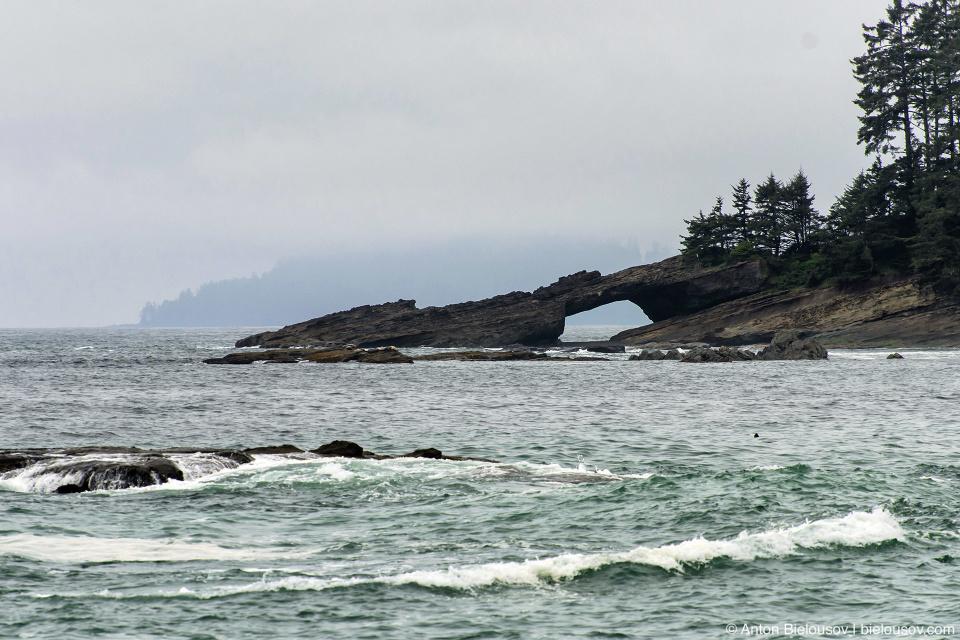 West Coast Trail: Tsusiat Point, 27 km