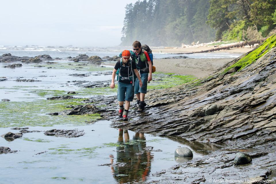 West Coast Trail: Vancouver Point, 51km