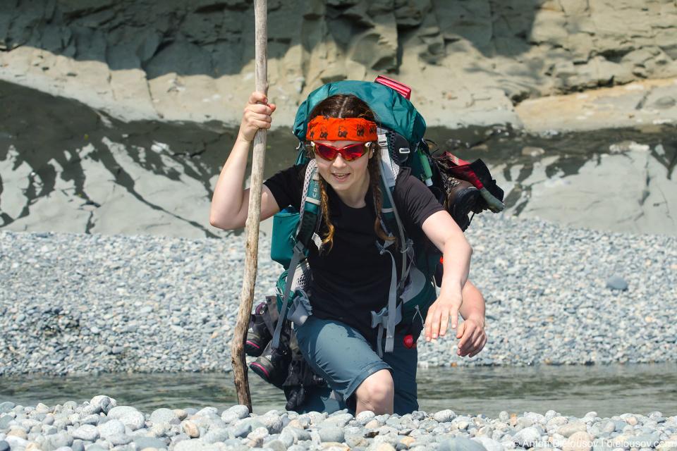 West Coast Trail: Walbran Creek Forcing