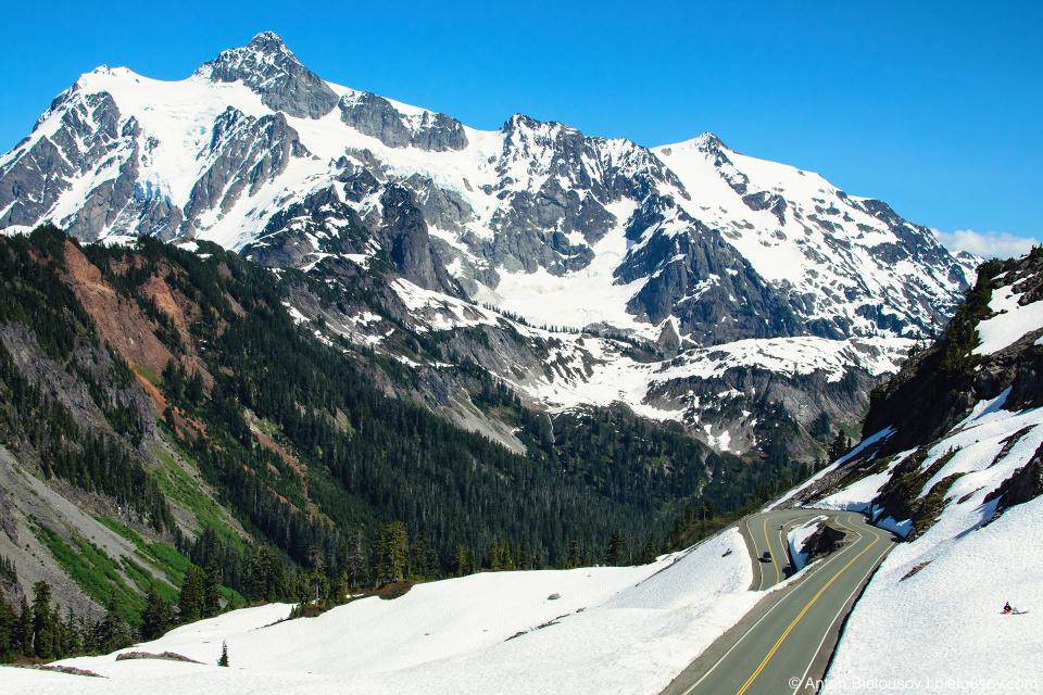 Artist Point Road, Baker Mountain, WA