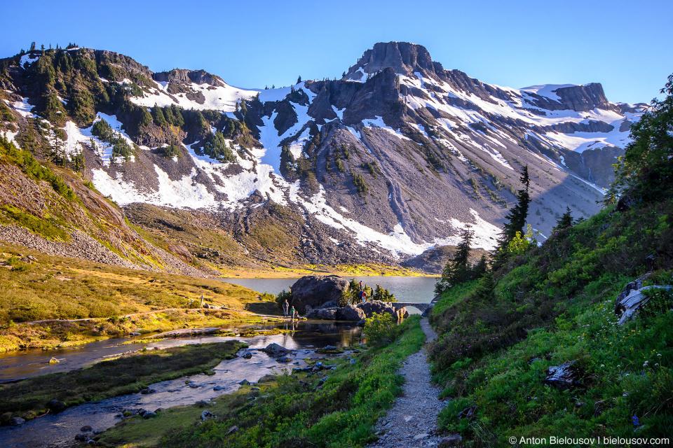 Chain Lakes trail, Mount Baker, WA
