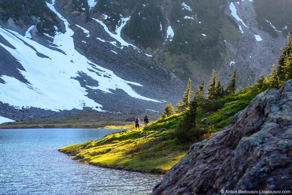 Chain Lakes trail, Baker Mountain, WA