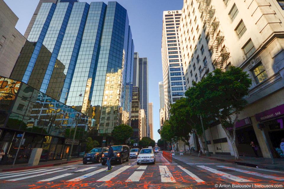 Улица в даунтауне Лоc-Анджелеса