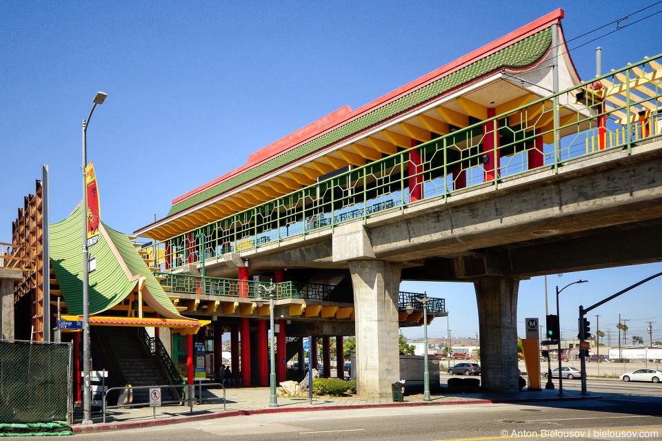Станция метро Chinatown (Los Angeles, CA)