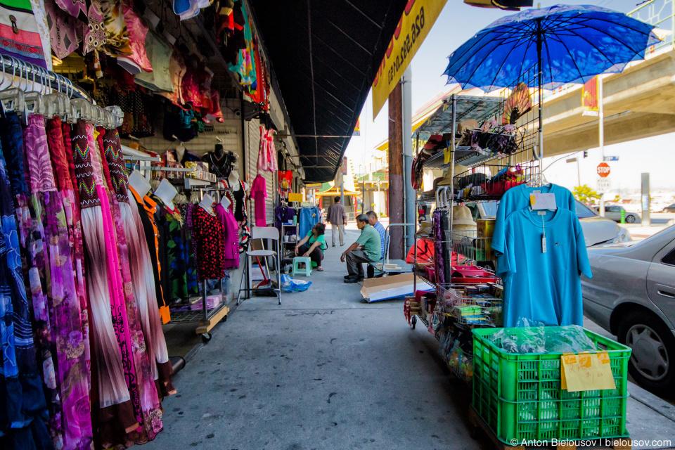 Уличный бизнес в чайнатауне (Los Angeles)
