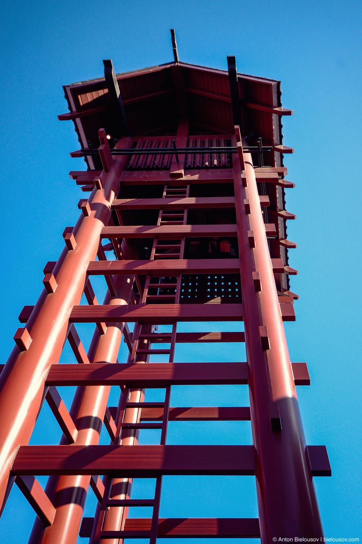 Японская смотровая башня в Маленьком Токио (Лос-Анджелес)