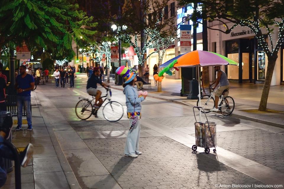 Променад на 3й улице (Santa Monica, CA)