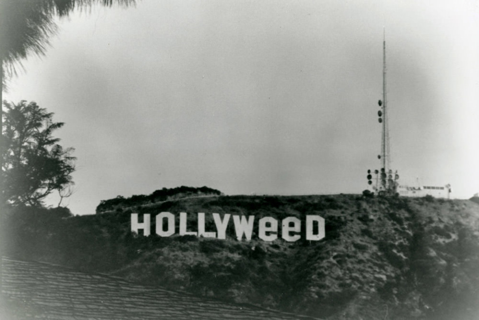 Hollyweed Sign, 1976