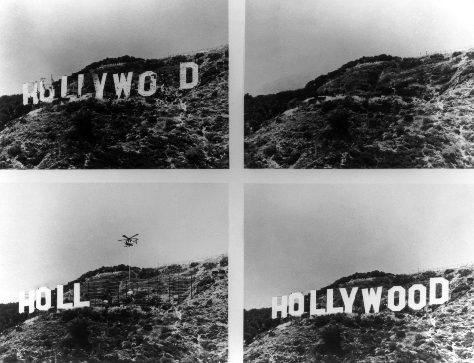 Hollywood Sign in 1978