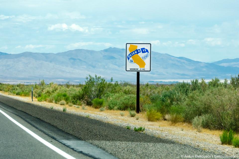 Социальная реклама ремней безопасности в Калифорнии