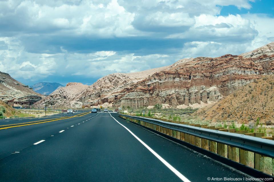 Дорога в Калифорнии