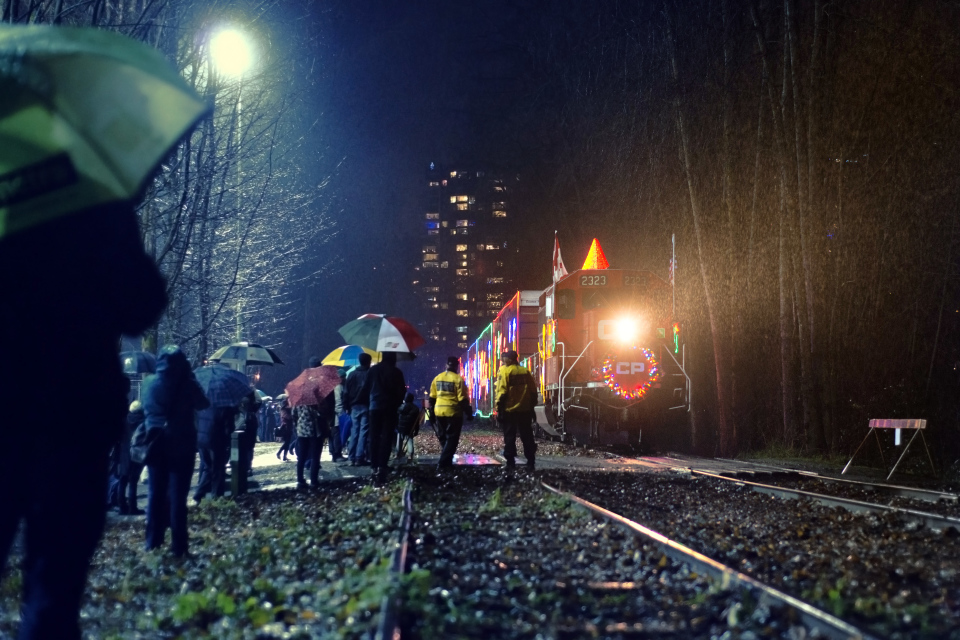 Canadian Pacific Holiday Train (Port Moody, BC)