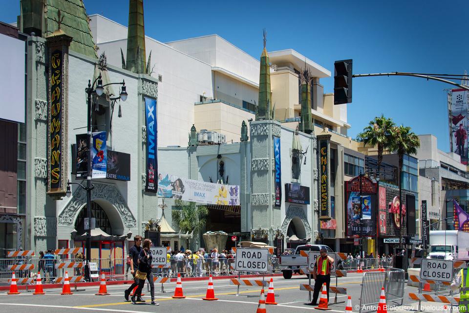 Премьера на Голливудском бульваре