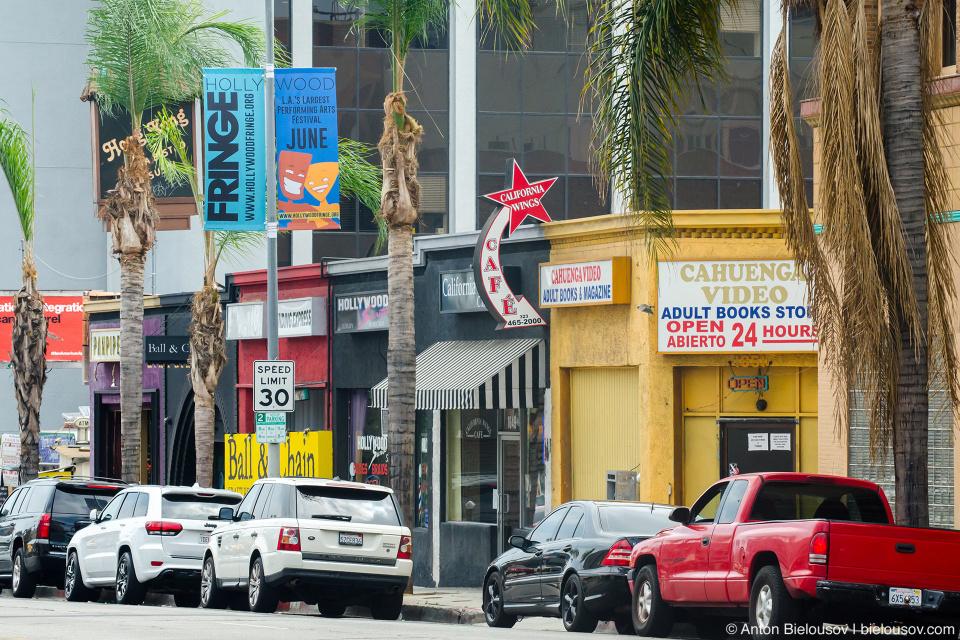 Малый бизнес на Голливудском бульваре