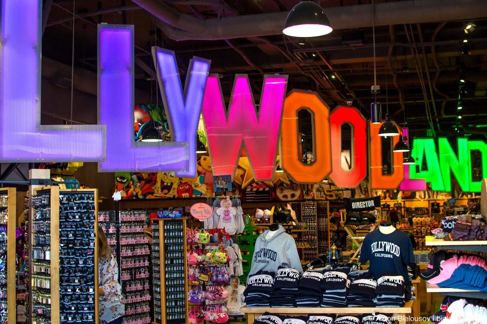 Голливудский сувенирный магазин