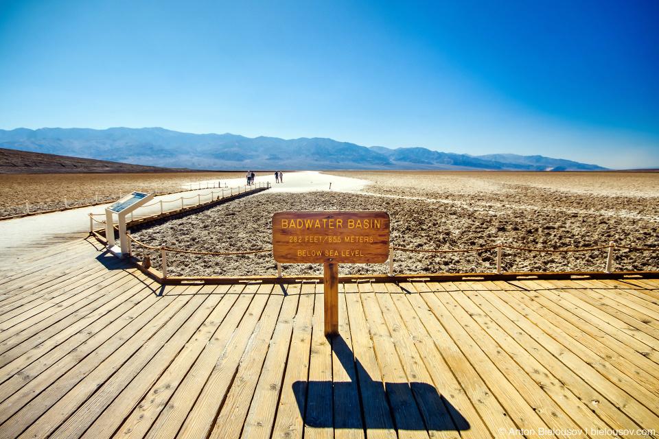 Badwater Basin, Death Valley, CA