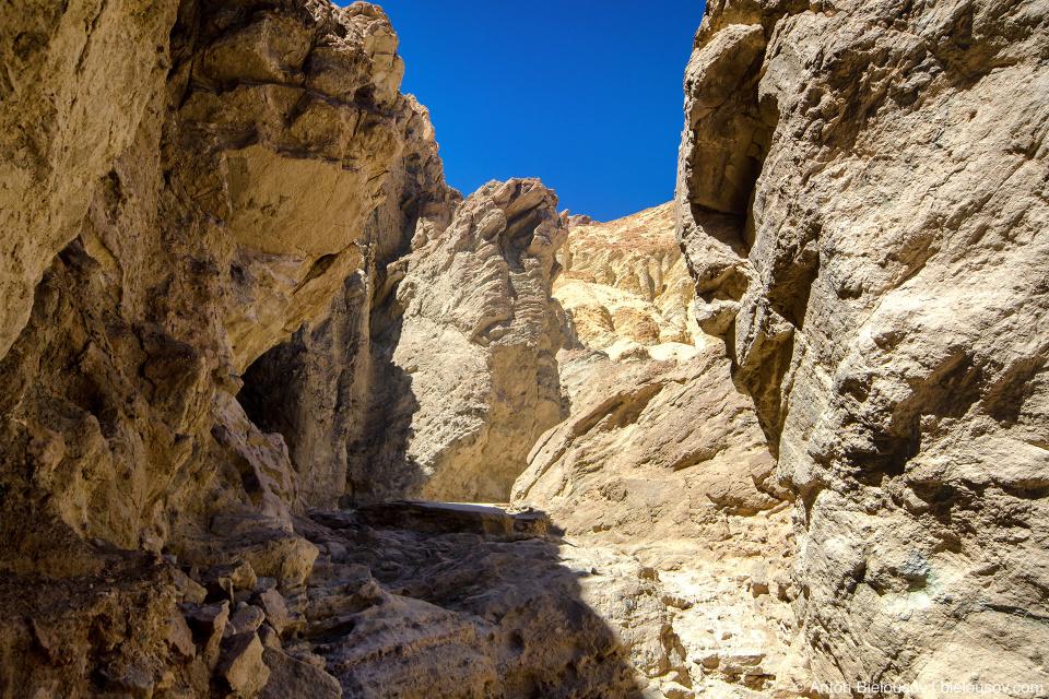 Golden Canyon, Death Valley