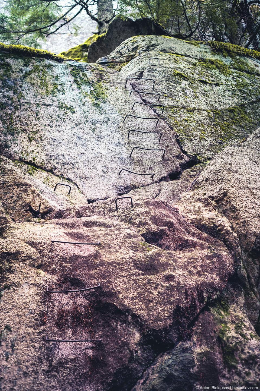 Лесница на вершину Чифа