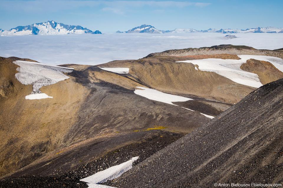 Ледники на горе Black Tusk