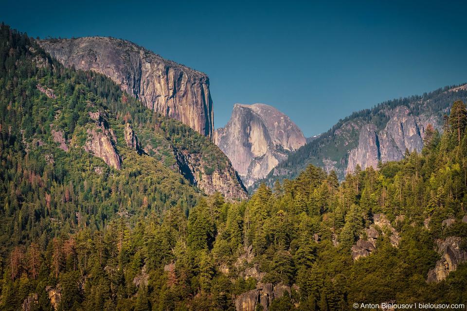 El Capitan and Half Dome, Yosemite National Park, CA