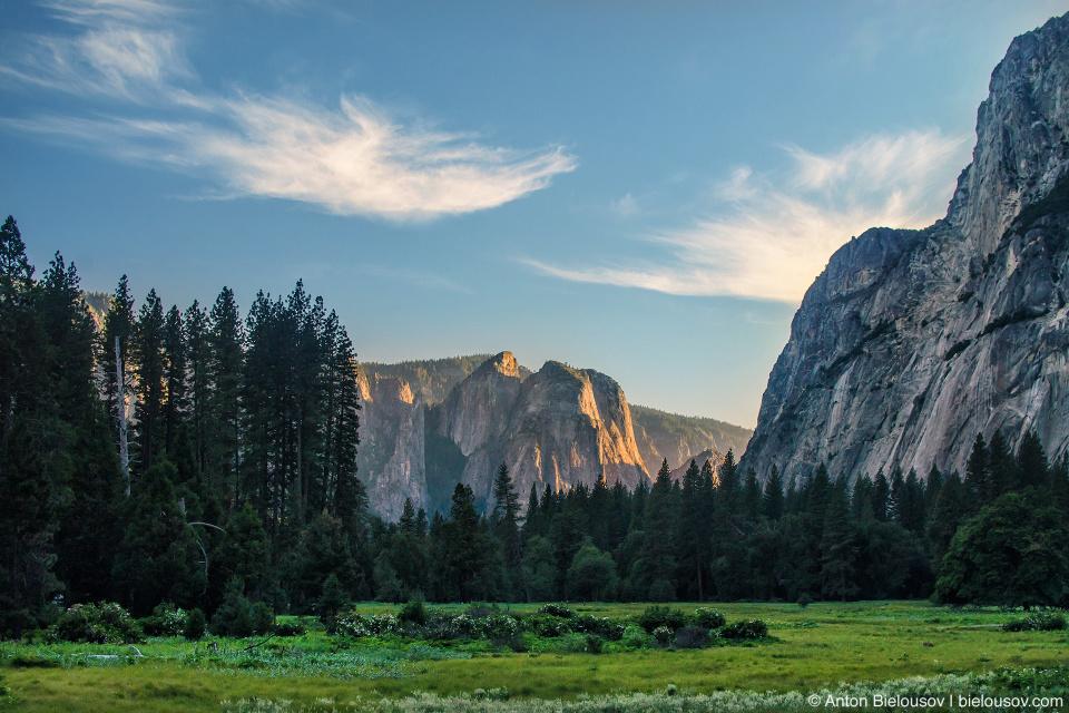 Долина парка Йосемити (Yosemite National Park)