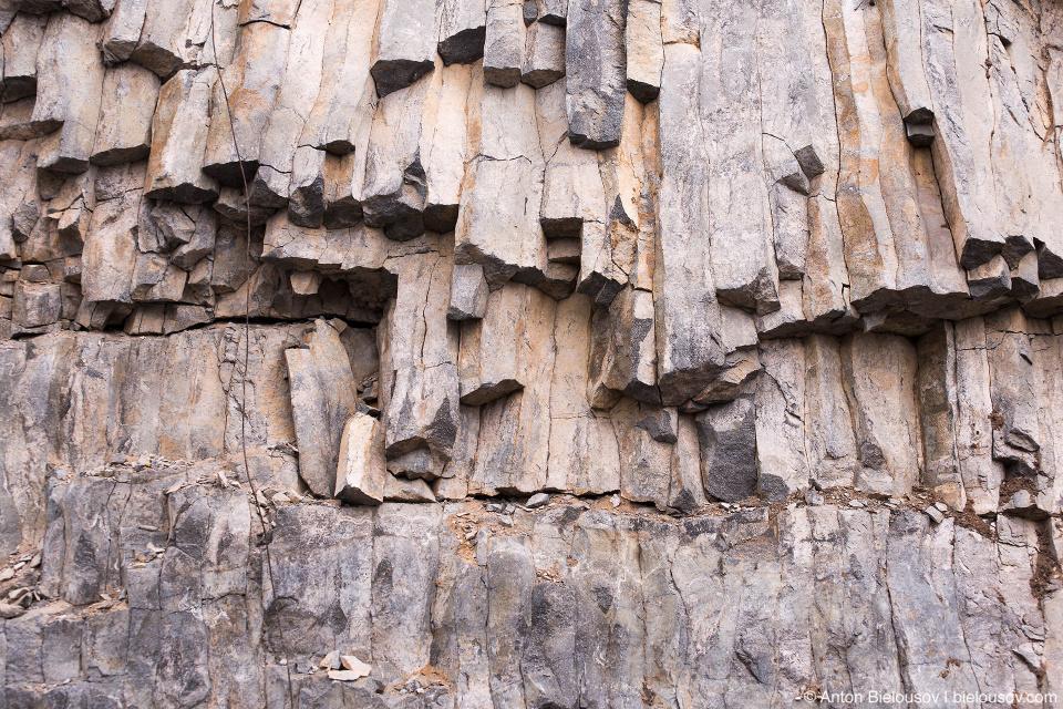 Базальтовые колонны (Baker Mountain, WA)