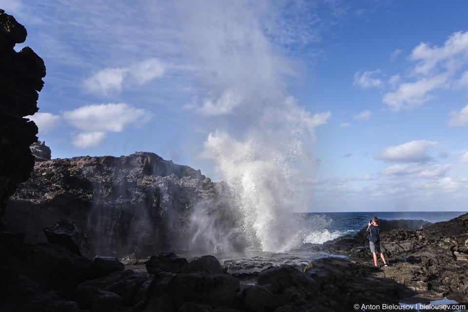 Nakalele Blowhole (Maui, HI)