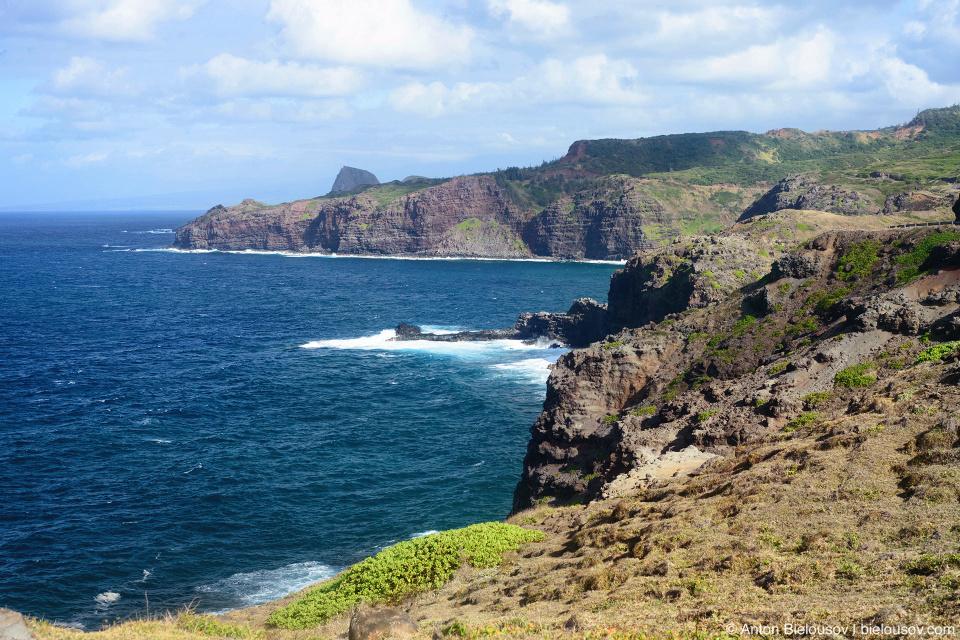Pu'u Kukui north shore (Maui, HI)