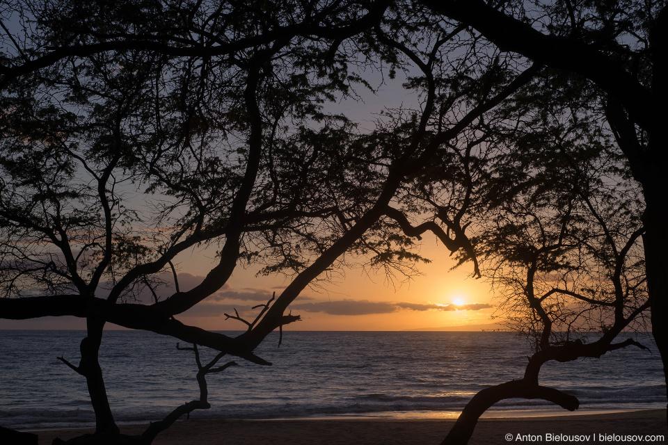 Закат на Мауи (Maui, HI)