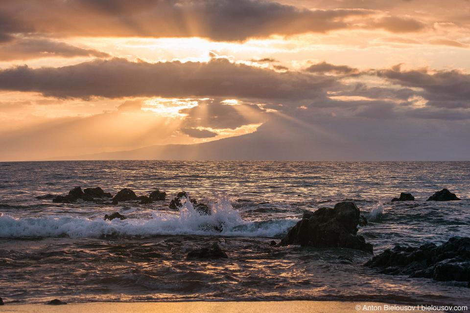 Keawakupu Beach Sunset (Maui, HI)