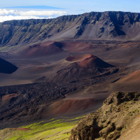 Кратер Халеакалы на рассвет (Maui, HI)