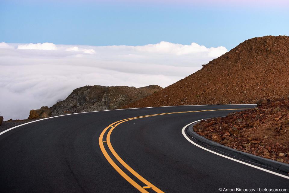 Haleakala road (Maui, HI)