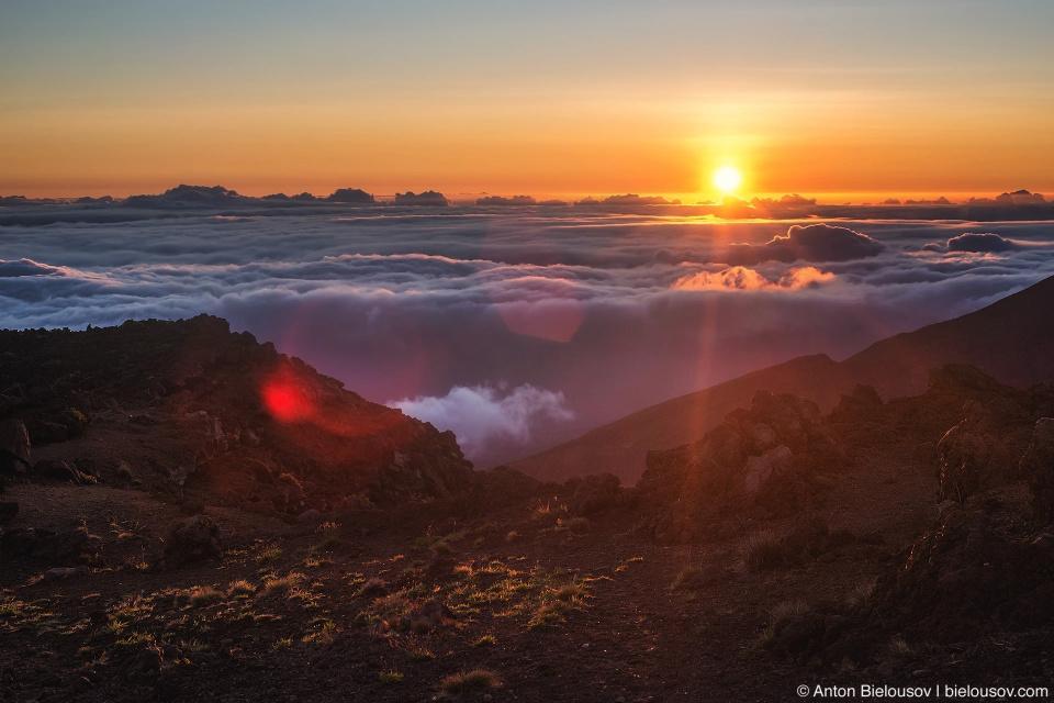 Рассвет на Халеакале (Maui, HI)