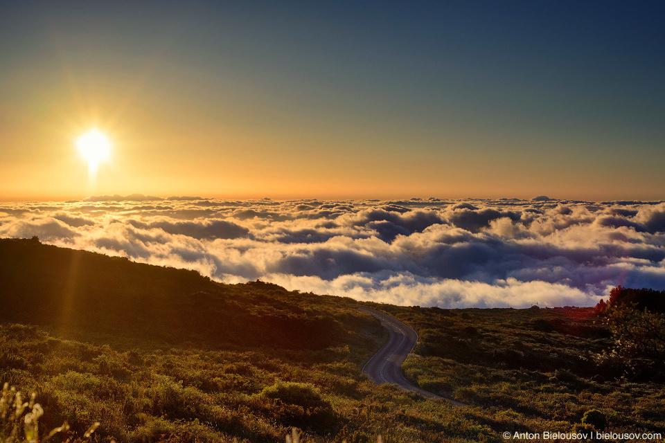 Закат на Халеакале (Maui, HI)