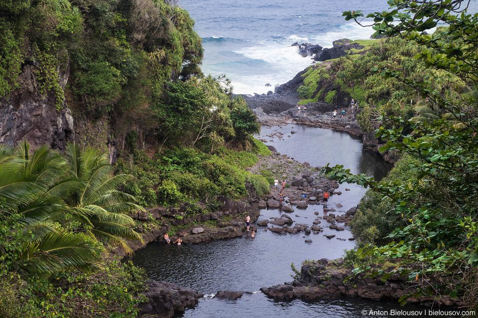 Seven Pools of Ohe'o (Maui, HI)