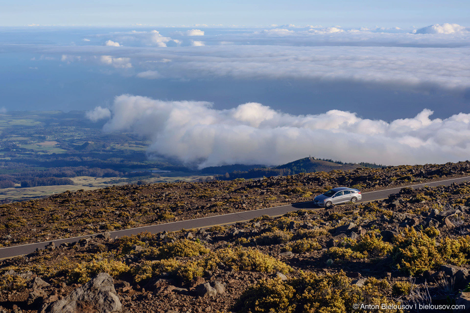 Maui view from Haleakala