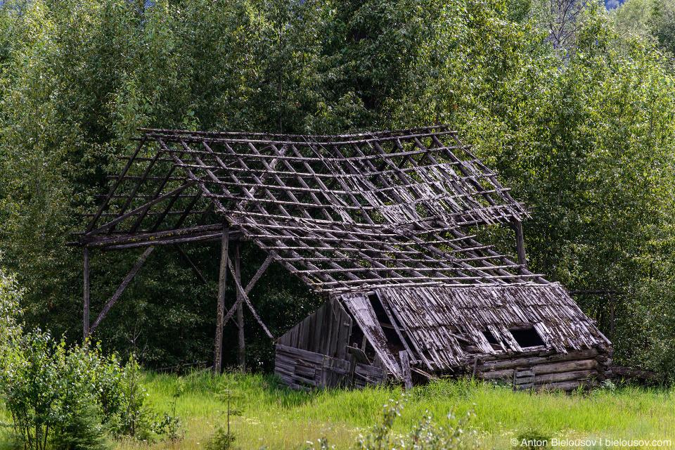 Заброшенный фермерский дом